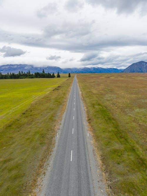 Kostnadsfri bild av antenn, asfalt, Drönare, drönarfoto