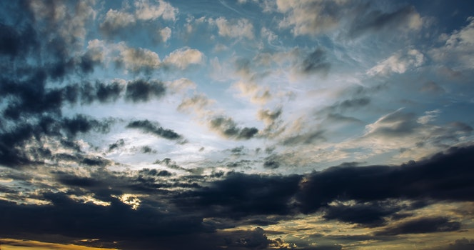 Free stock photo of nature, sky, clouds, weather