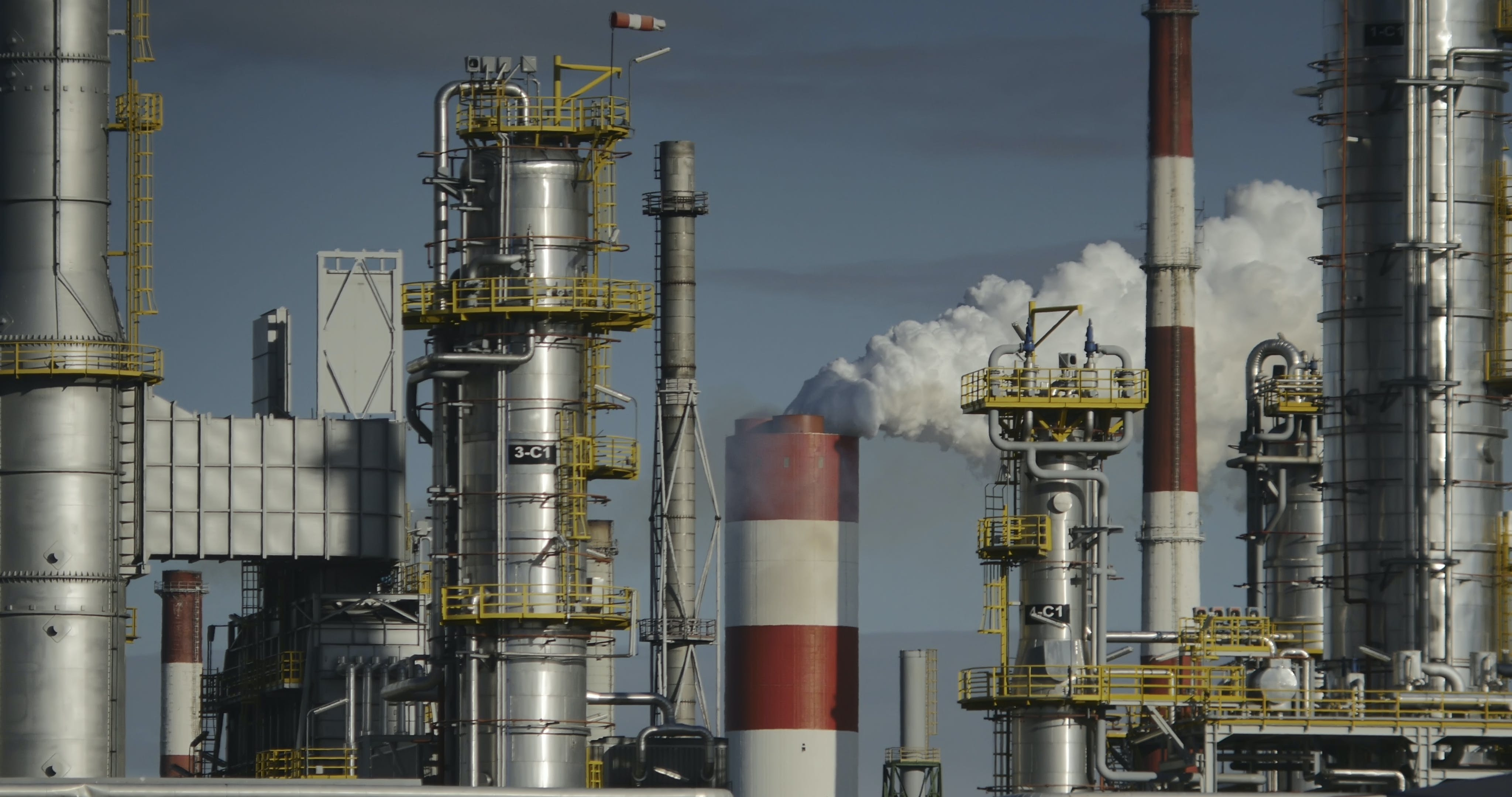 Free stock photo of air pollution, chimey, industry, oil industry