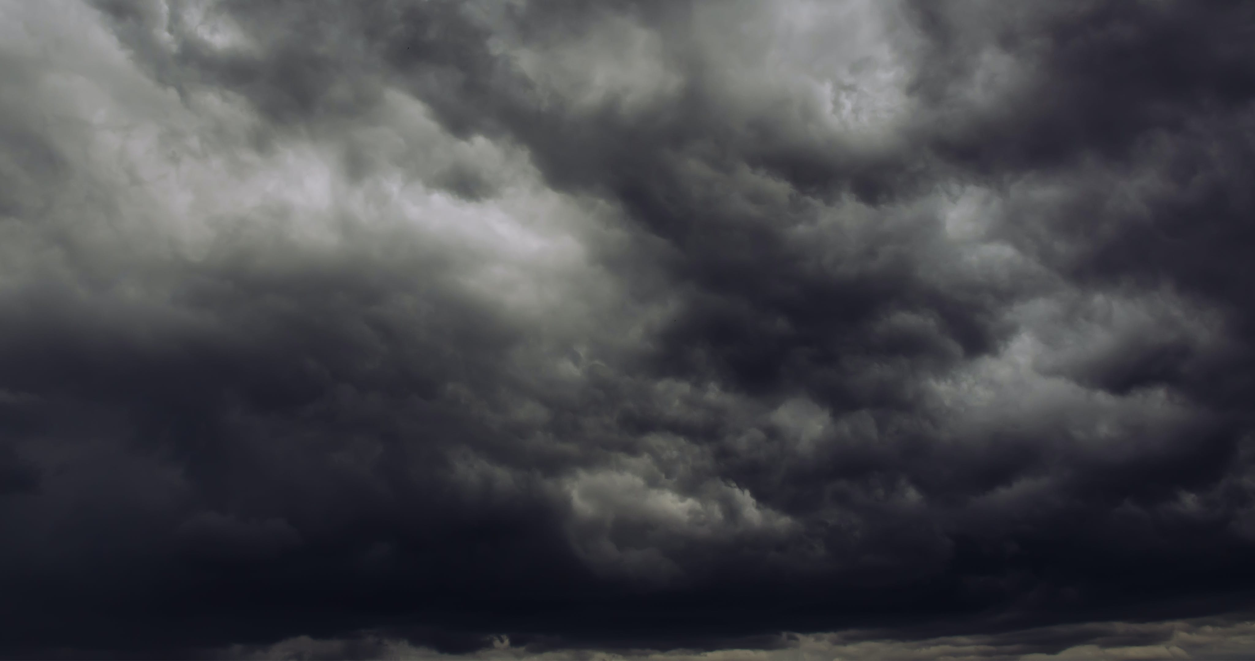 Free stock photo of storm, thunderstorm, dark clouds