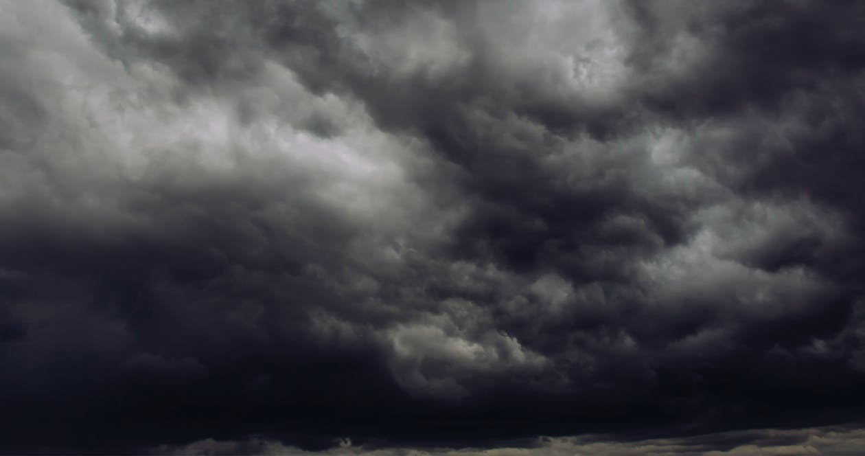 dark clouds, storm, thunderstorm