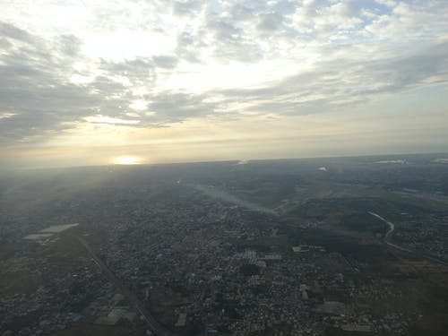 Free stock photo of aerial shot, aerial view, aeroplane, aerospace