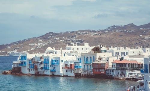 城市, 城鎮, 希臘, 建築 的 免费素材照片