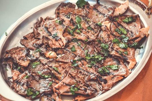 Free stock photo of vegetables, vegetarian, mushrooms, dish
