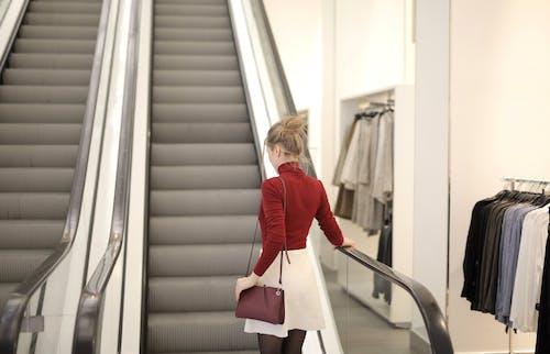 Základová fotografie zdarma na téma eskalátor, obchod, obchodní dům