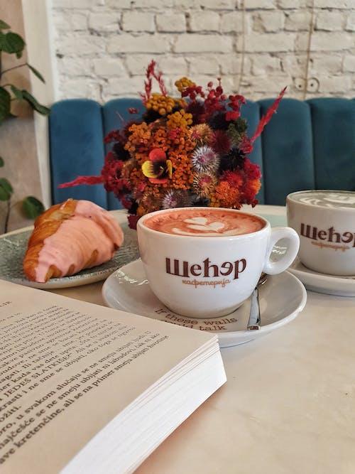 一杯咖啡, 卡布奇諾, 咖啡 的 免費圖庫相片