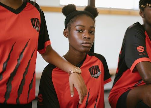 Foto d'estoc gratuïta de actiu, adolescent, afició, afroamericà