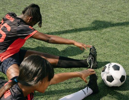Kostenloses Stock Foto zu afroamerikaner, aktivität, athlet