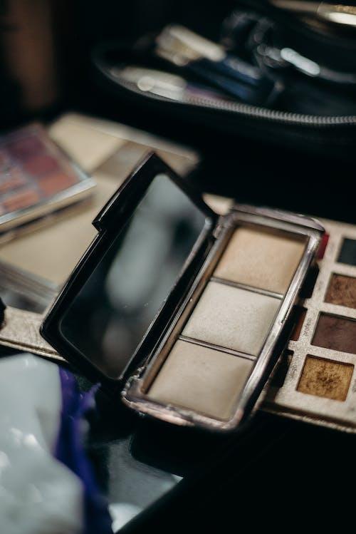 コンパクト, パレット, 化粧, 化粧品の無料の写真素材