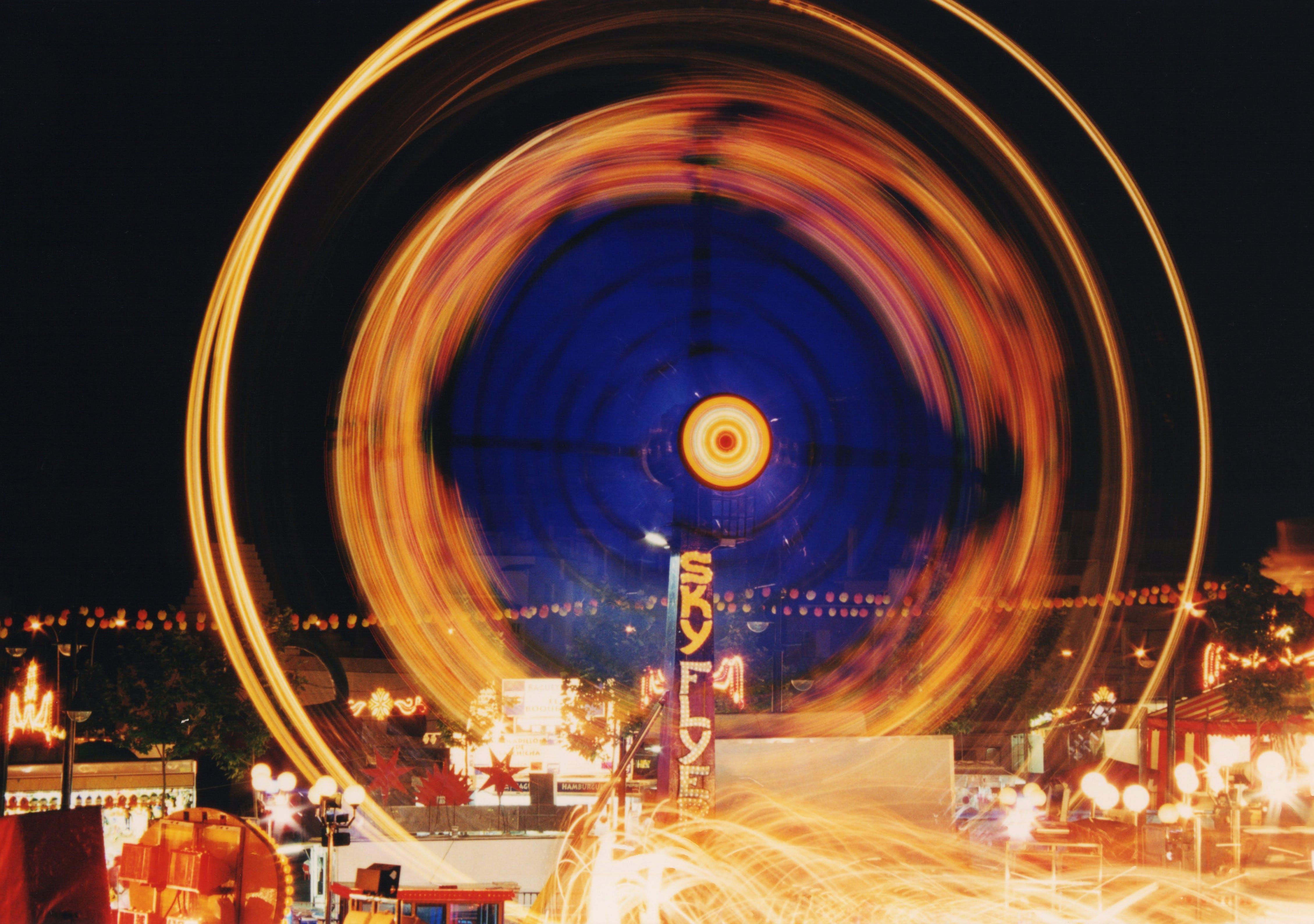 Gratis arkivbilde med bevegelse, feiring, festival, hastighet
