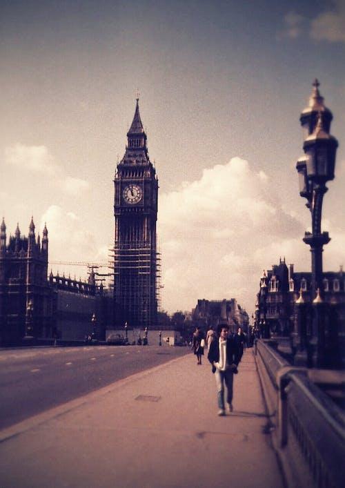 Základová fotografie zdarma na téma 80. léta, Anglie, architektura