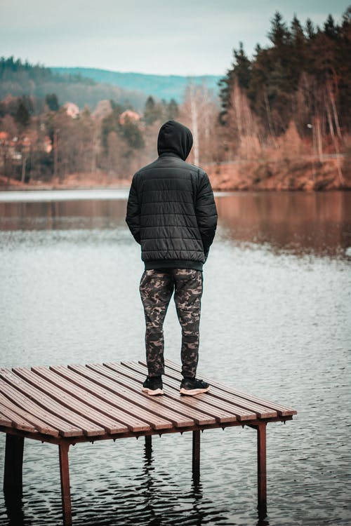 Kostenloses Stock Foto zu allein, dock, eins, einsamkeit