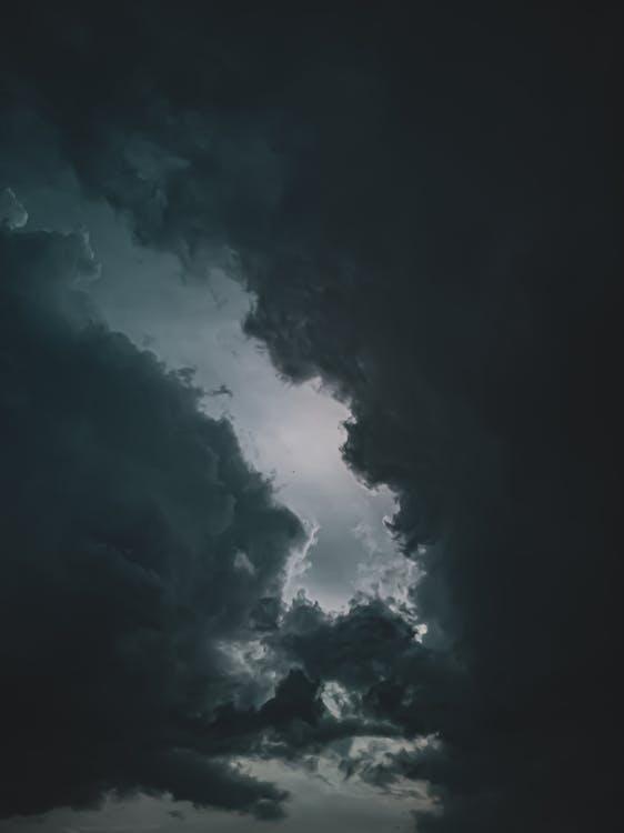 Nuvole Scure Nel Cielo
