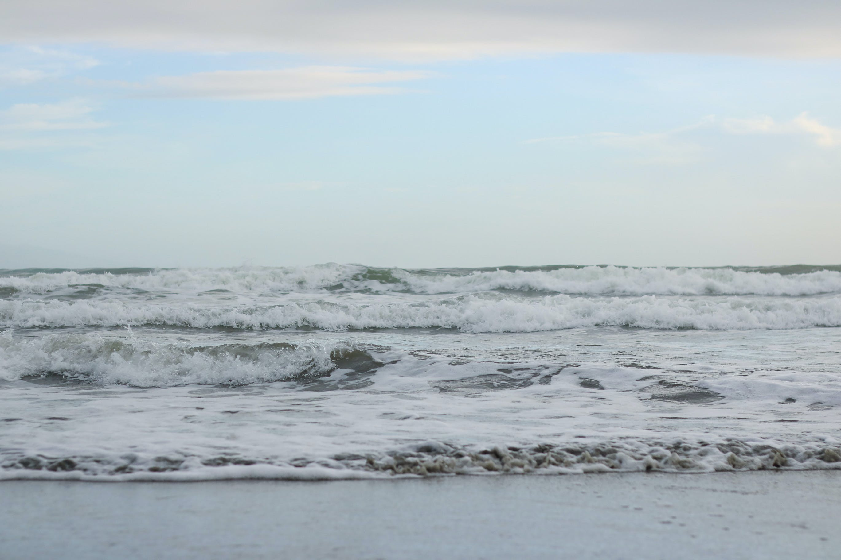 Free stock photo of beach, blue, blue hour, blue waters