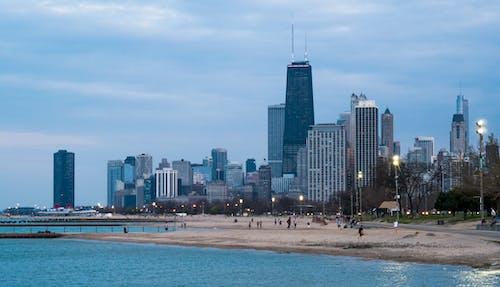 シカゴ, シティ, トレイル, ビーチの無料の写真素材