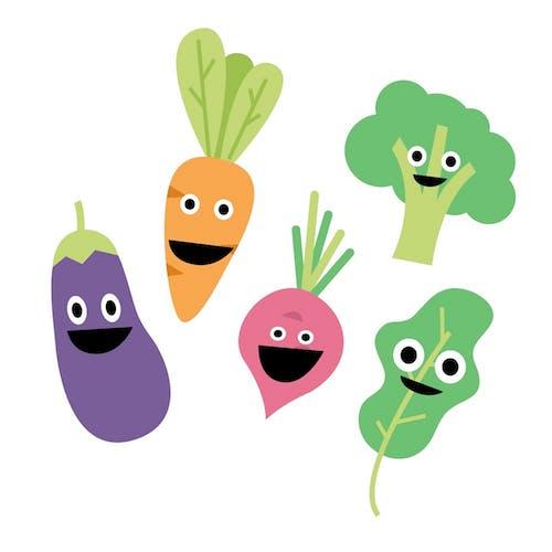 Free stock photo of clean eating, dental health, food, fresh vegetables
