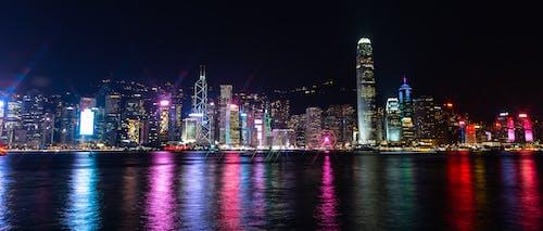 Fotos de stock gratuitas de noche de la ciudad