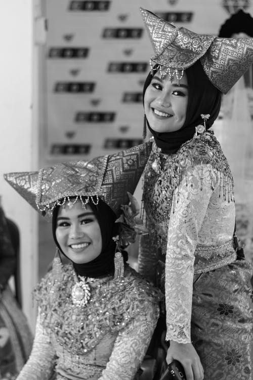 Women Wearing Costumes