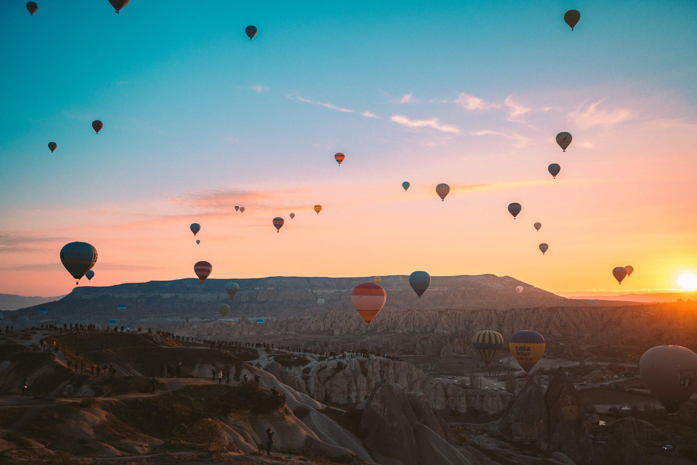 Hot Air Balloon Tour Over Cappadocia