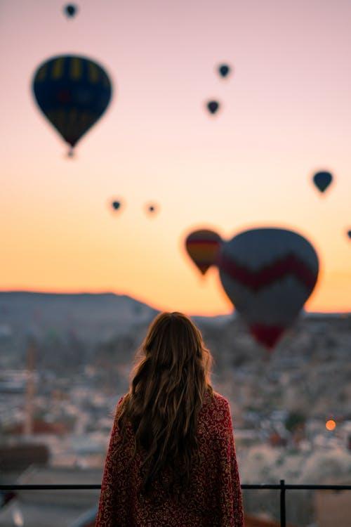 balon, balon udara panas, cappadocia