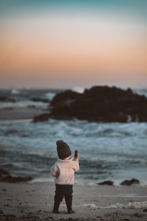 Photo Of Baby On Beach