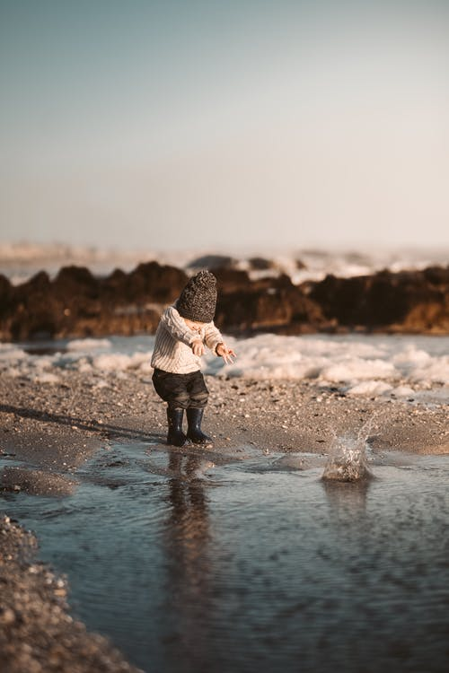 Photo Of Toddler Near Water