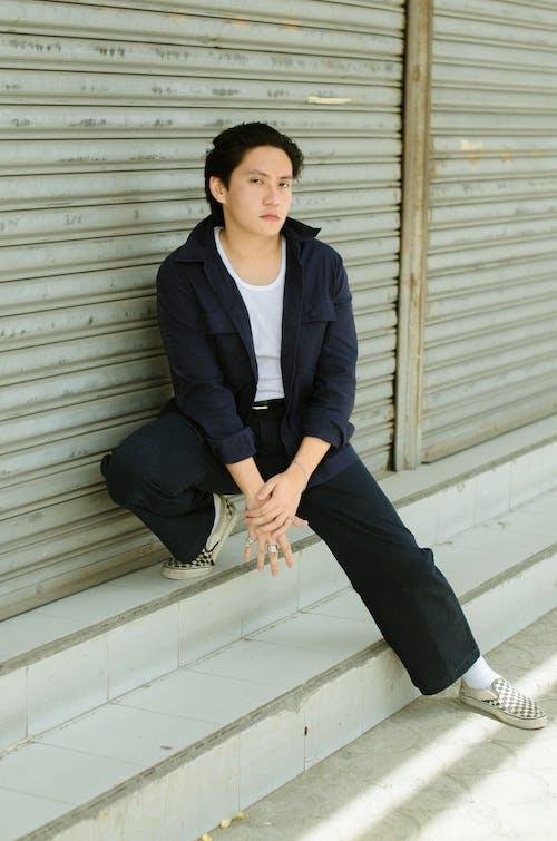 Foto d'estoc gratuïta de adult, atractiu, blazers, conjunt de roba
