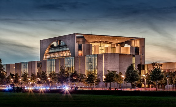 Free stock photo of berlin, Federal Chancellery, germany, government