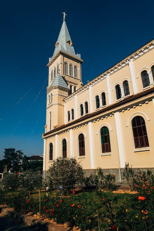 beton, bina, katedral, kilise içeren Ücretsiz stok fotoğraf