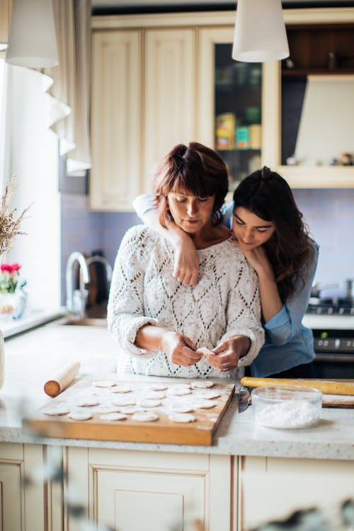 Women Making Pelmeni