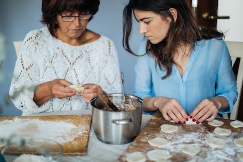 インドア, フード, ペルメニ, ロシア料理の無料の写真素材