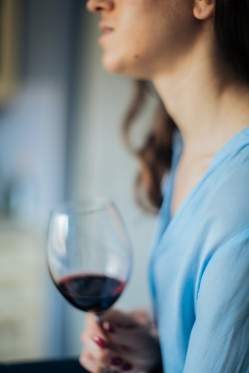 Photo Of Woman Holding Wine Glass