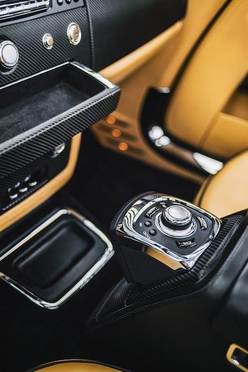 Black And Brown Car Interior