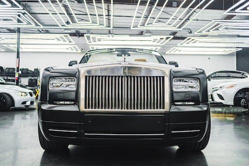 Black Rolls Royce Car