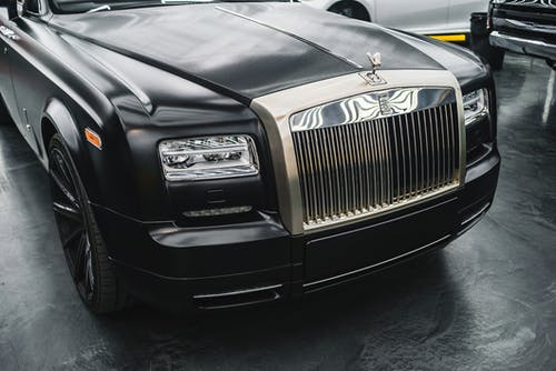 Photo of Black Rolls Royce Car