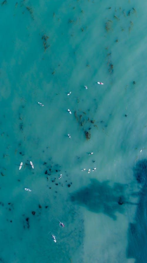 Darmowe zdjęcie z galerii z dron, lotniczy, morze, ocean