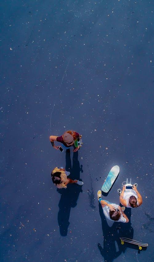 Foto d'estoc gratuïta de aeri, amics, des de dalt, dron