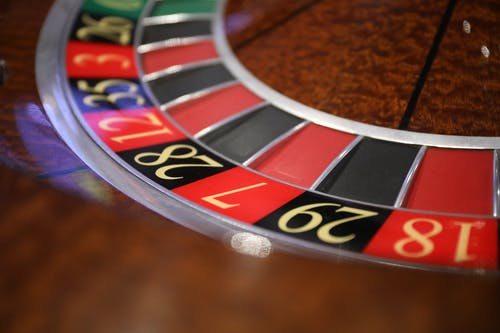 Close-up Shot Of A Roulette