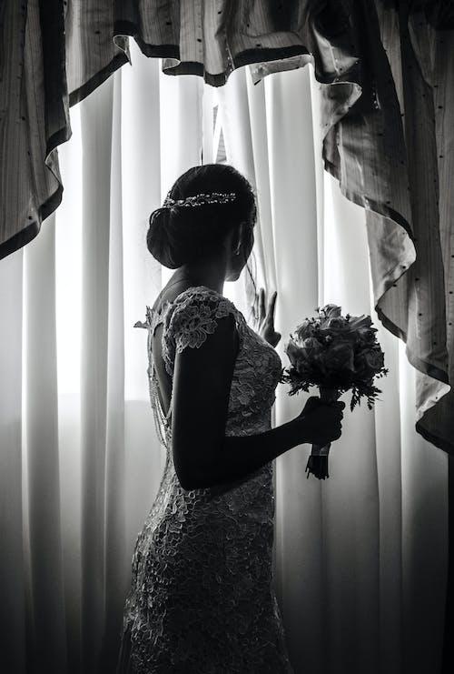 여성용 그레이 민소매 맥시 드레스