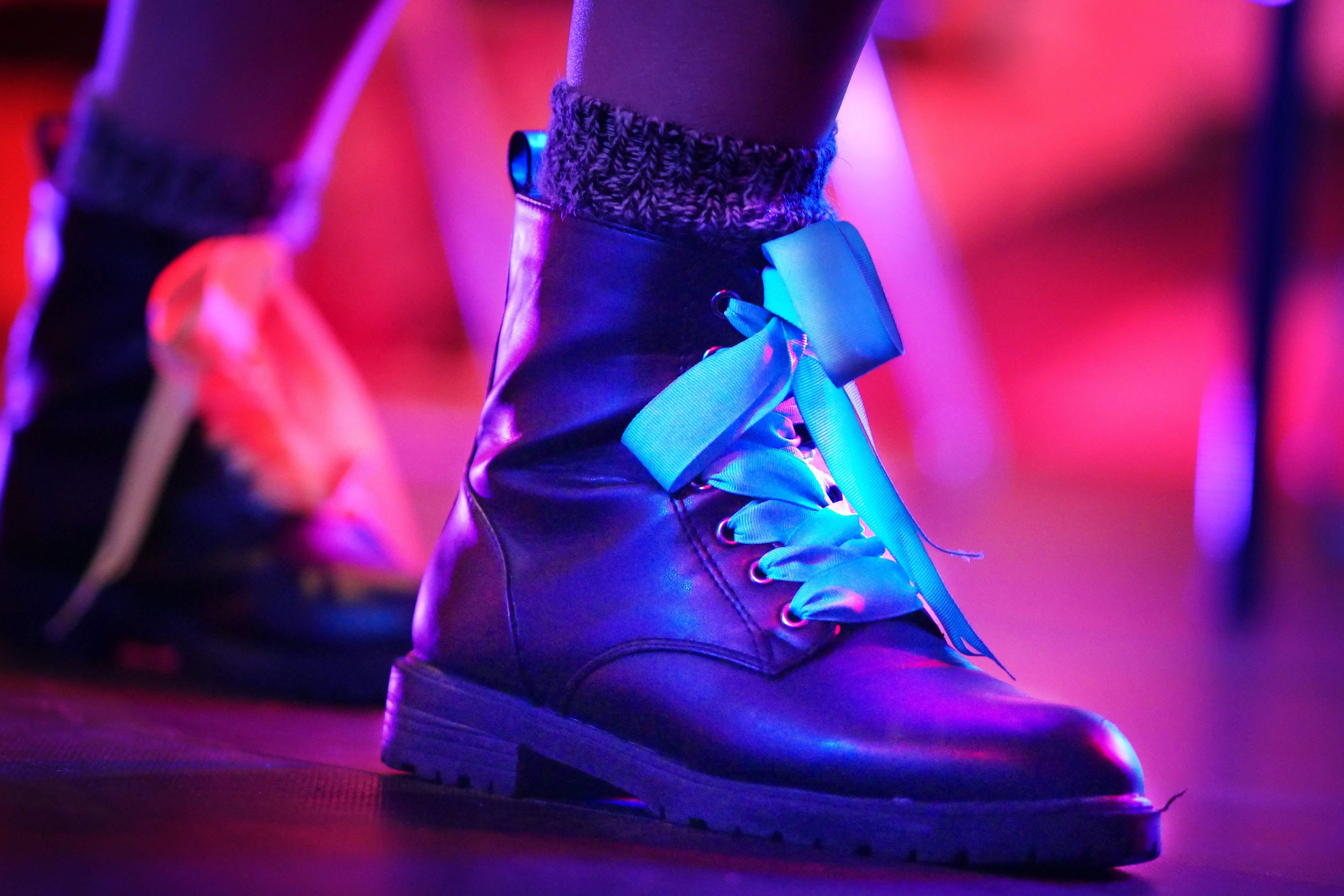 blur, boots, celebration