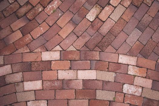 Free stock photo of red, bricks, background, background image