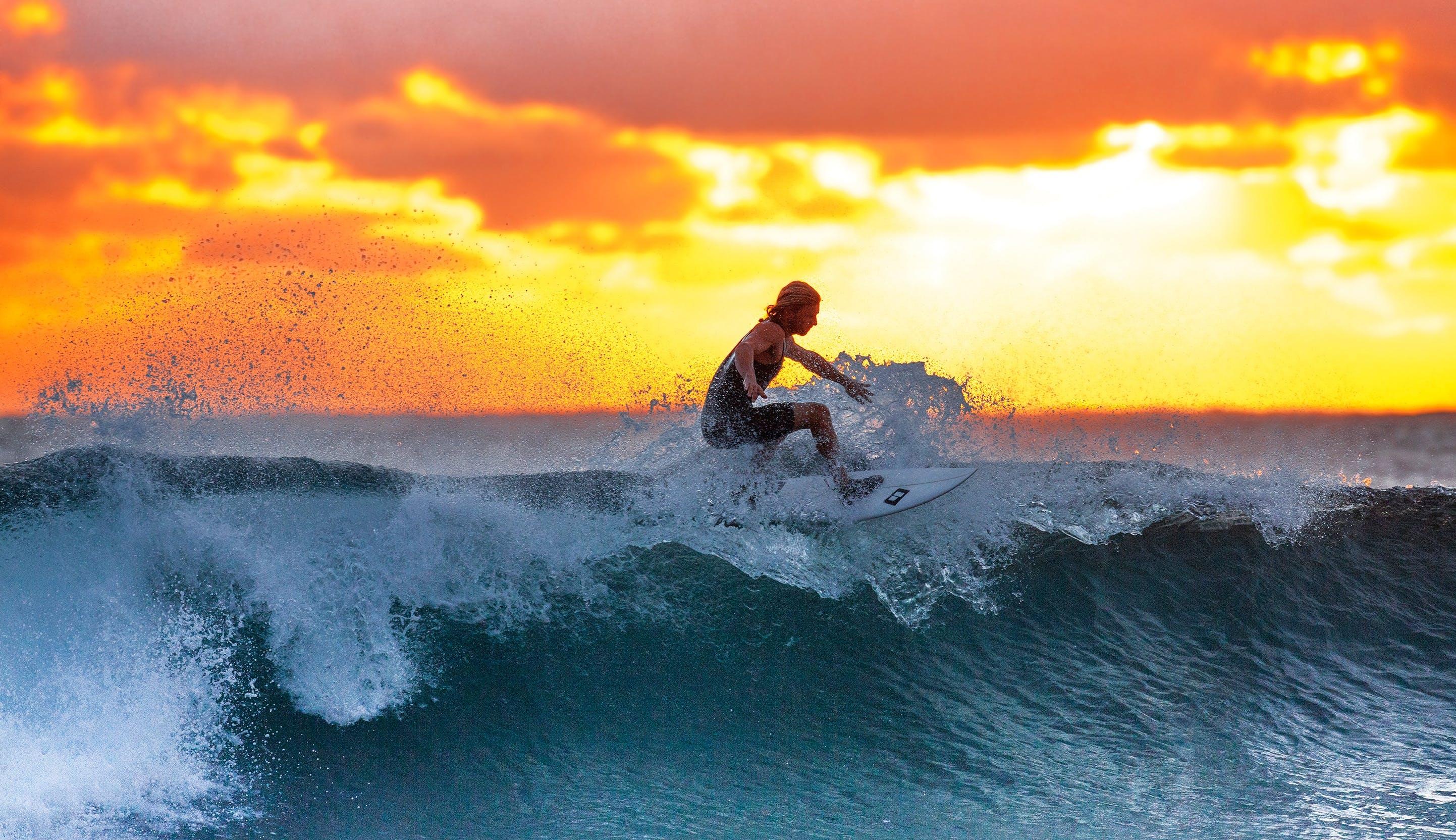 Δωρεάν στοκ φωτογραφιών με Surf, άθλημα, αναψυχή, άνδρας