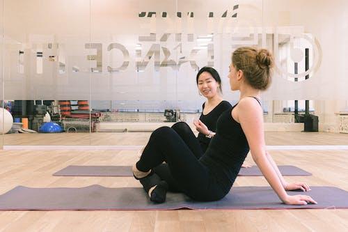 antrenman, antrenman yapmak, bale, bale dansçıları içeren Ücretsiz stok fotoğraf