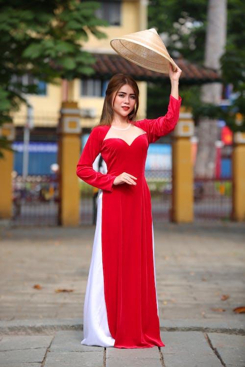 Ingyenes stockfotó álló kép, ázsiai nő, divat, nő témában