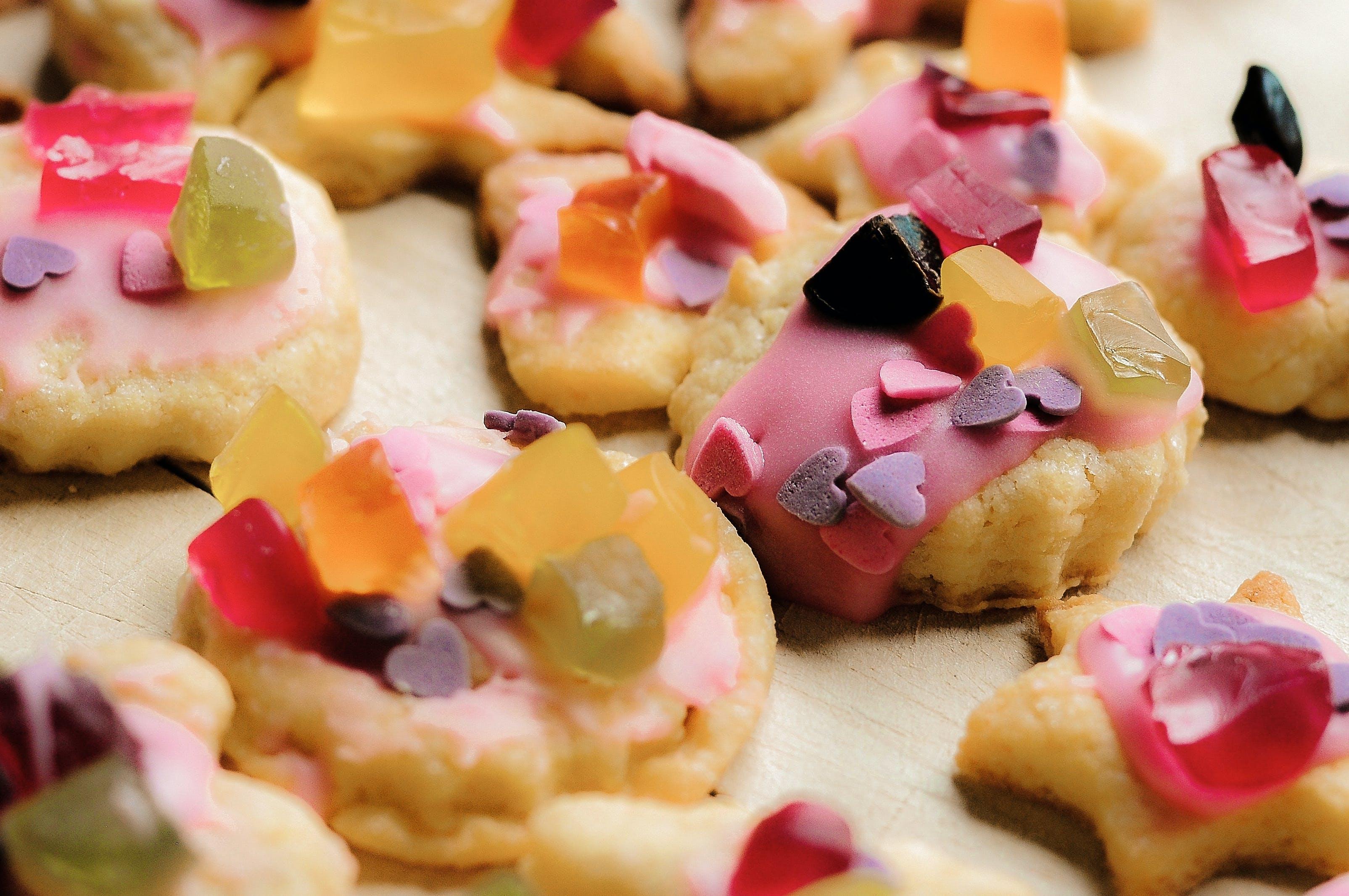 Kostenloses Stock Foto zu backen, kekse, süßigkeiten
