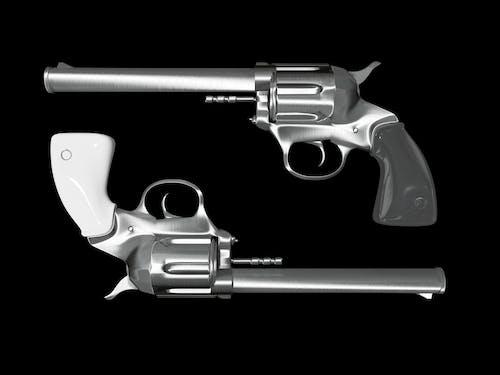 Ảnh lưu trữ miễn phí về cận cảnh, nền đen, súng, súng cầm tay