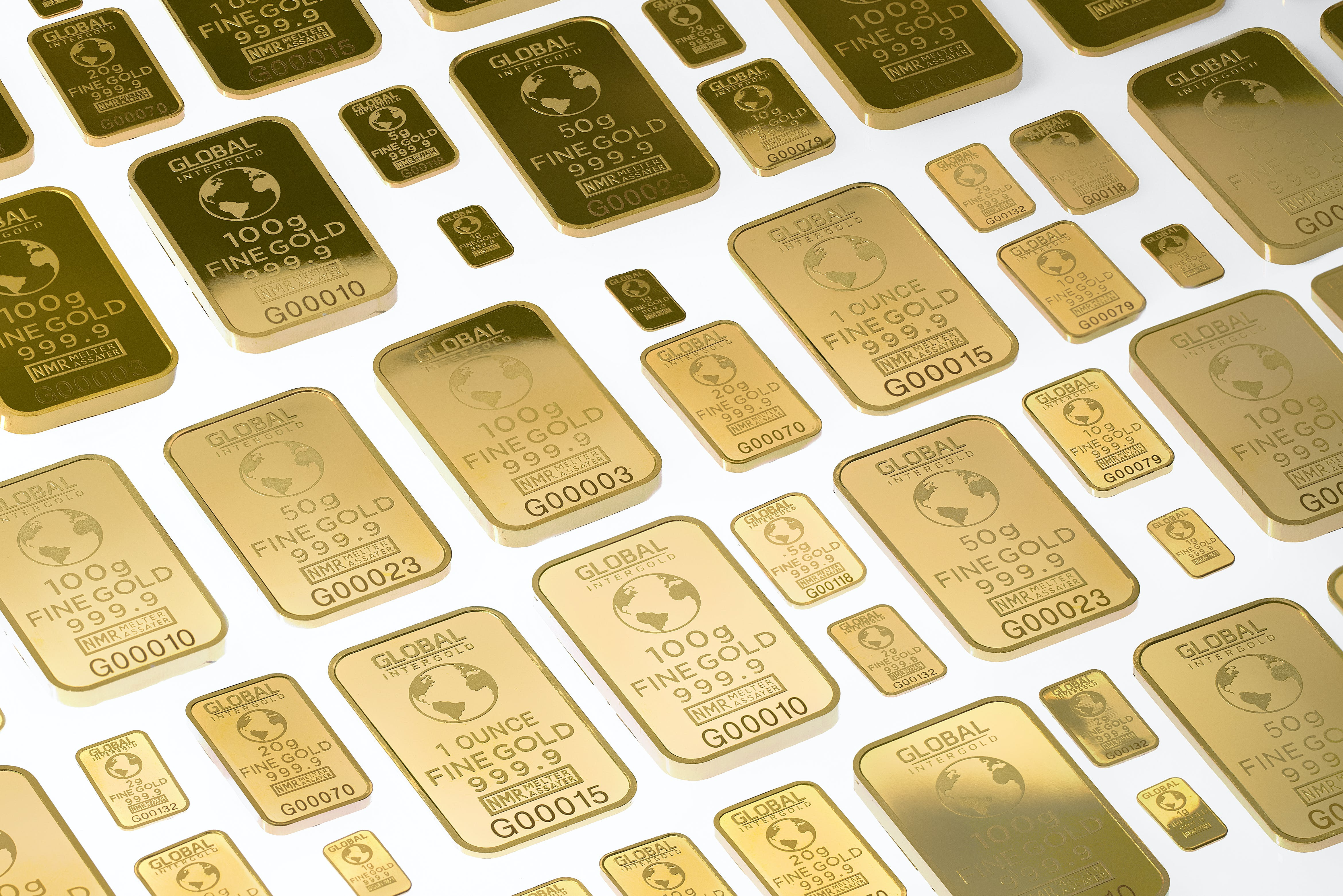 Free stock photo of global intergold, gold, gold bars, gold is money