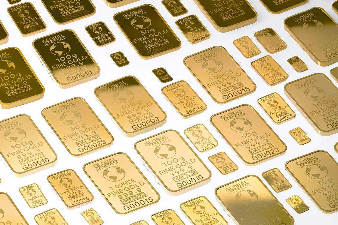 Free stock photo of global intergold, gold, gold bars
