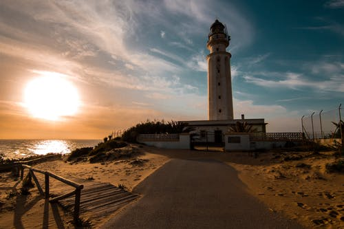Безкоштовне стокове фото на тему «архітектура, берег моря, Захід сонця, кадіс»