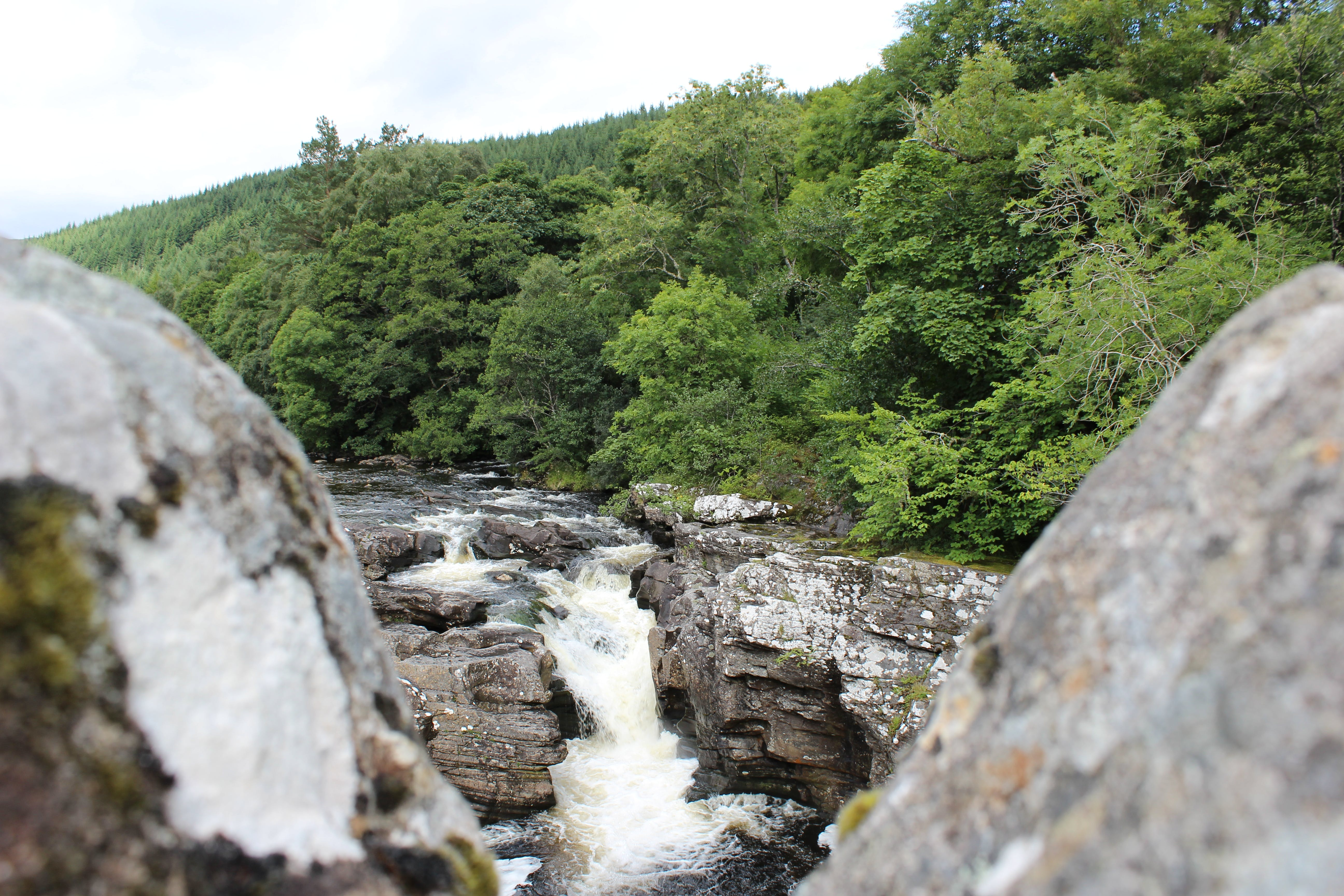 Free stock photo of between the rocks, blurry foreground, rapids, water